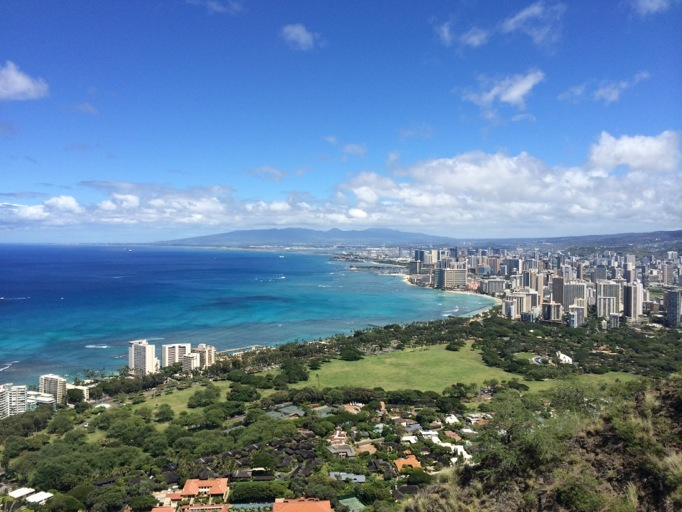 Happy Hawaii - DiamondHead
