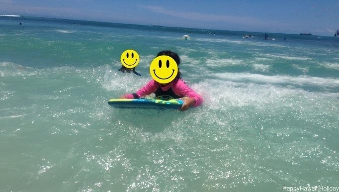 7歳のハワイ