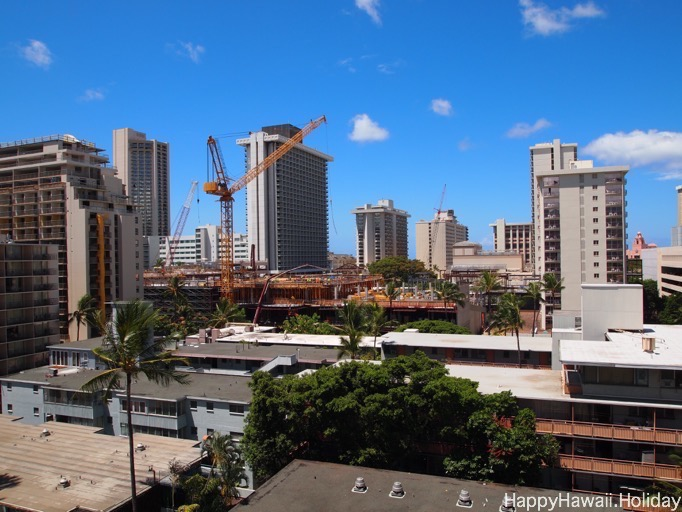2015年のイリマホテルからの眺め