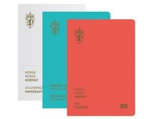 ノルウェーの新パスポート