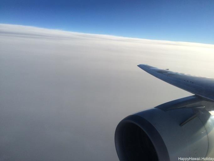 飛行機の外の様子