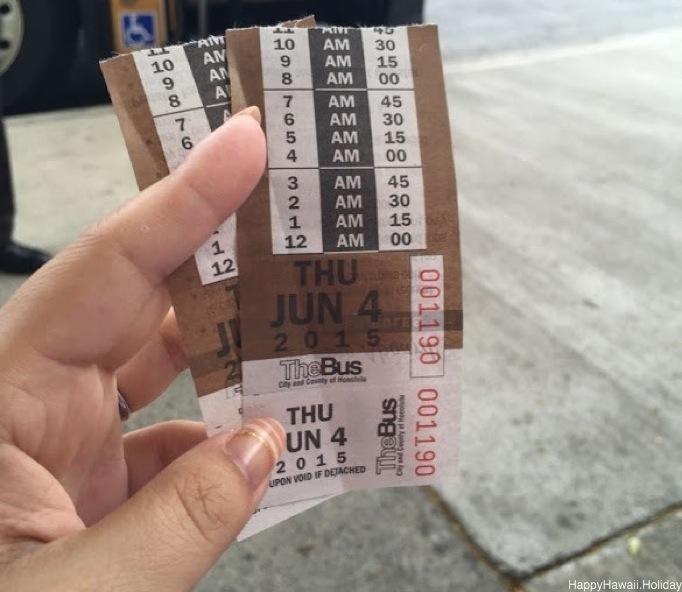 The BUS - 乗り換えチケット