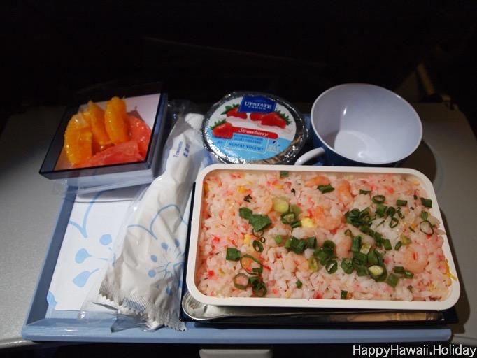 チャイナエアラインの機内食