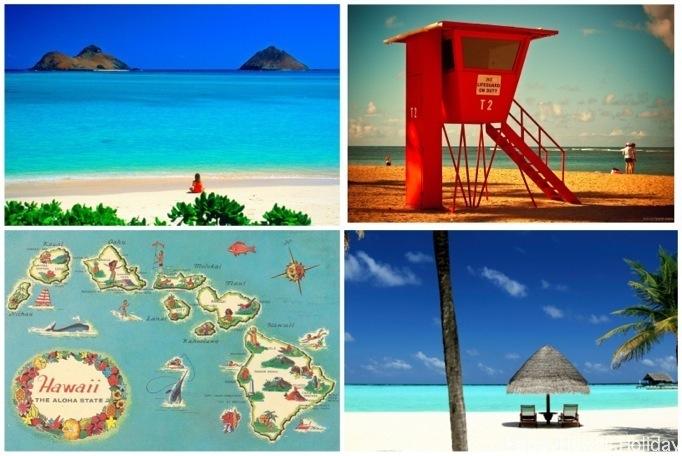 ハワイのポストカード