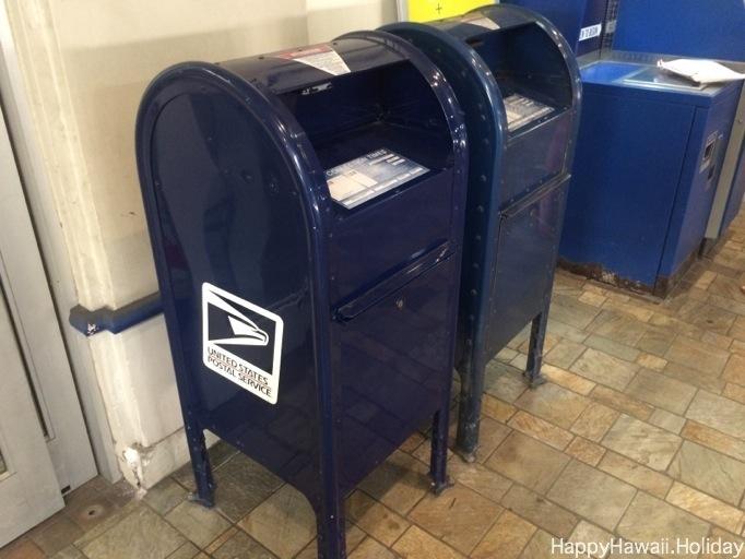 ハワイの郵便ポスト