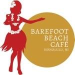 サンセットがきれいな ベアフット ビーチカフェ。オススメは金曜日!