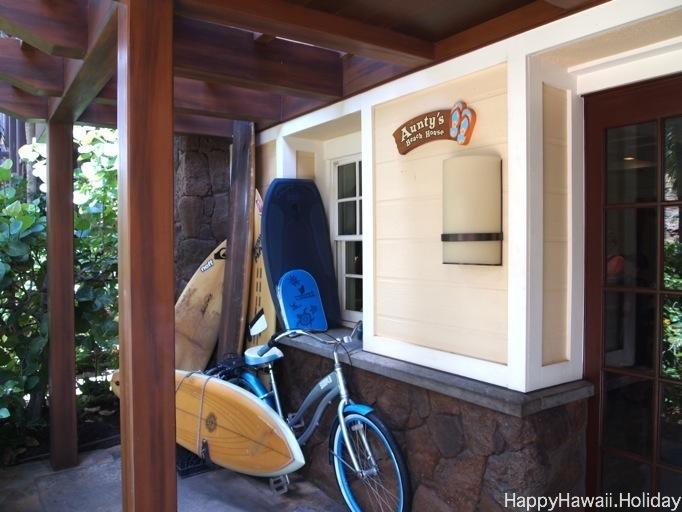 アンティーズビーチハウスの入り口