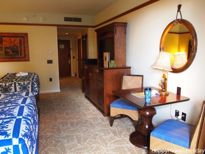 アウラニのプールサイドガーデンビューの部屋の写真2