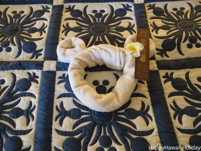 アウラニのプールサイドガーデンビューの部屋の写真3
