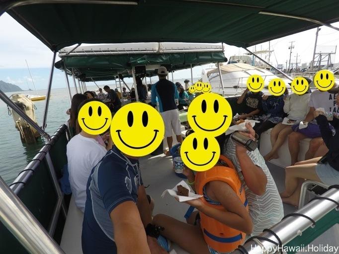 キャプテン・ブルースの船内